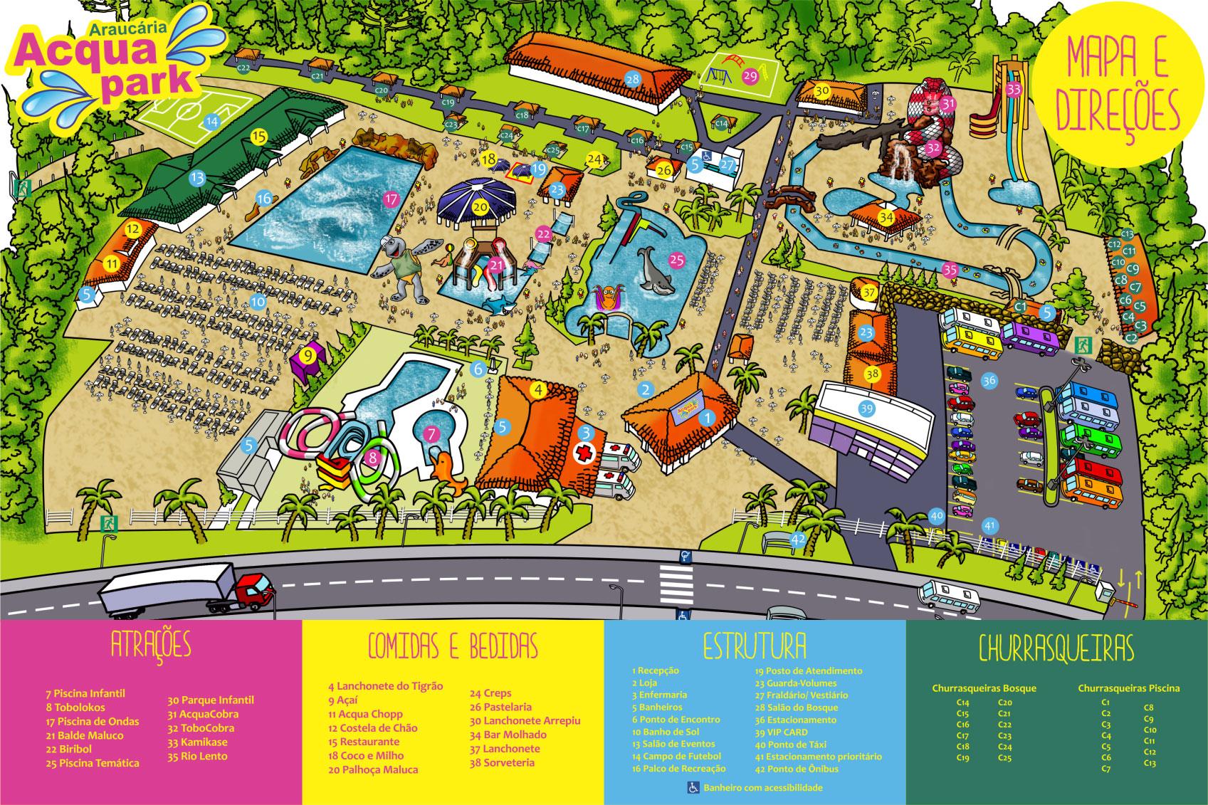 Mapa do Parque